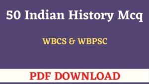 Indian History Gk In Bengali PDF