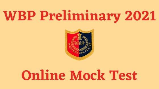 WBP Constable Mock Test